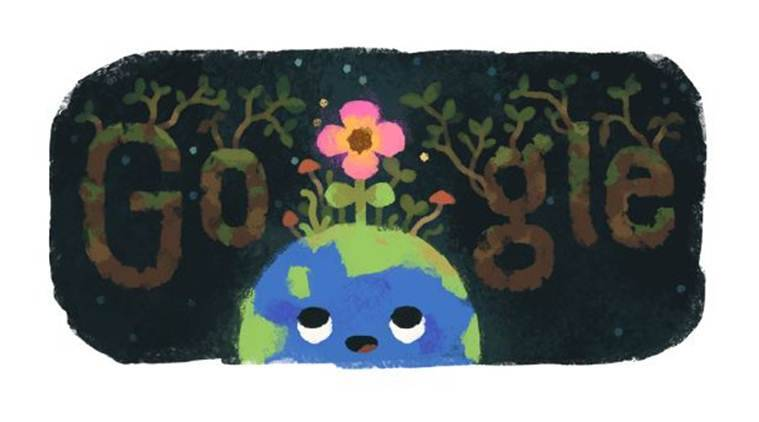 Spring Equinox 2019: Google marks the beginning of spring with doodle