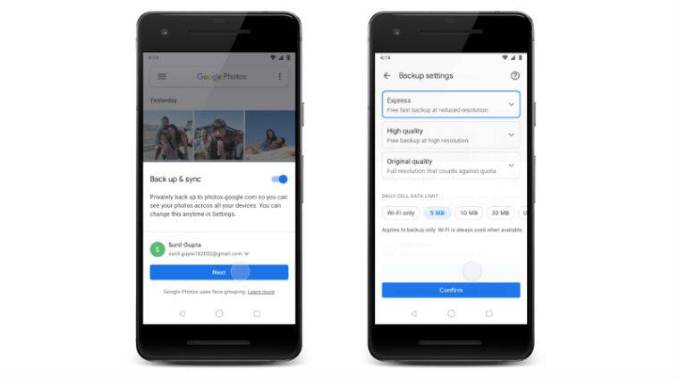 Google Photos Express Option Released In India For Faster Backup On Poor Wifi