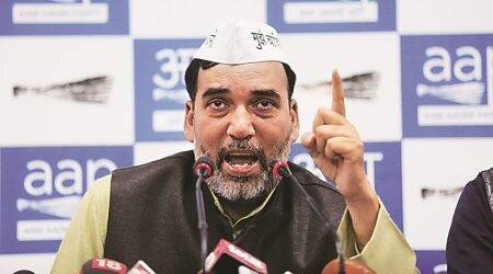 aap delhi, aap, AAP VS BJP, aap congerss, aap congress delhi alliance, gopal rai, aap convener, lok sabha elections, lok sabha elections 2019, lok sabha polls, election news, indian express