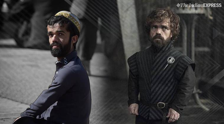 game of thrones, Tyrion Lannister, Tyrion Lannister look alike, game of thrones actors, game of thrones, pakistan, pakistan Rozi Khan, trending, indian express, indian express news