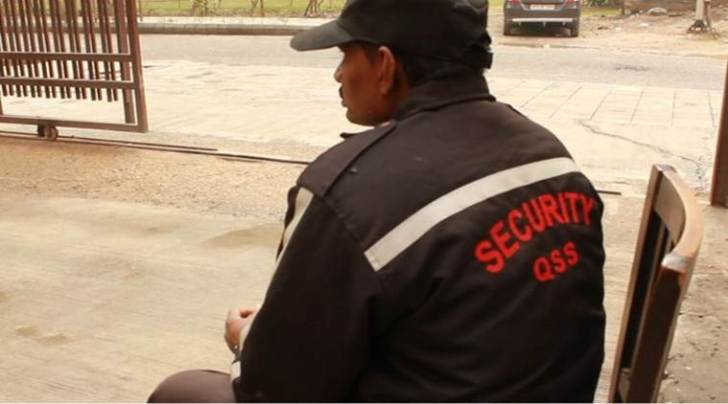chowkidar, private security guards