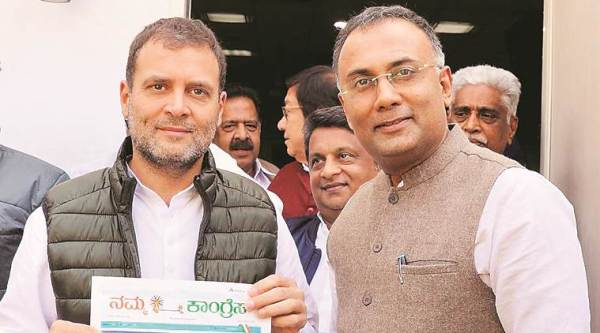 Dinesh Gundu Rao: 'We don't see a Modi wave. I see the wave only on TV, social media'
