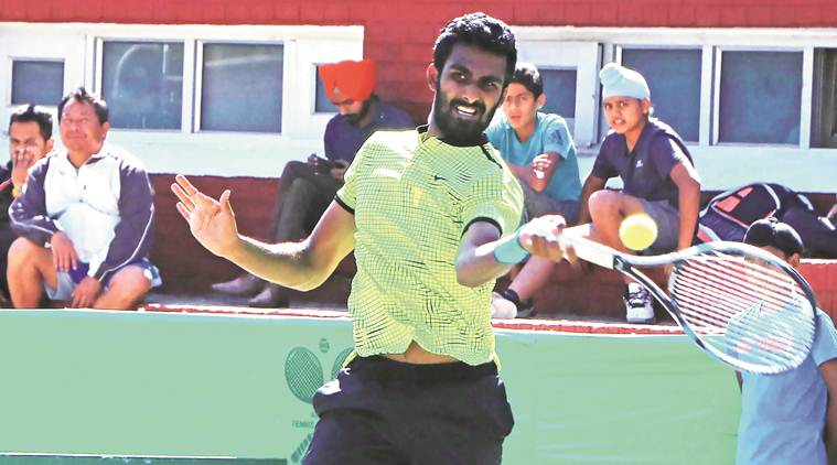 prajnesh gunneswaran, prajnesh gunneswaran indian wells, indian wells matches, indian wells results, indian wells scores, indian tennis, gunneswaran vs Nikoloz Basilashvili, tennis news, sports news