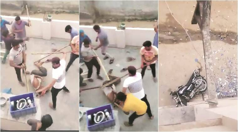 Gurgaon muslims attack, Gurgaon Police, Gurgaon attack, ML Khattar, Gurgaon holi incident, Hindu Muslim, Mob lynching, vigilantism, mob attack, India news, Indian Express