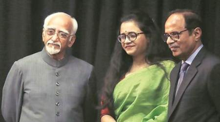 hamid ansari, hamid ansari on official secrets act, hamid ansari on rafale, hamid ansari lecture university, indian express news