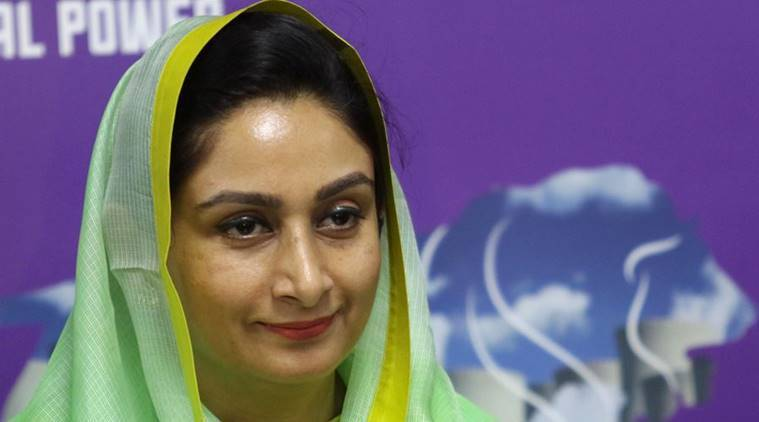 Task force to resolve food industry issues: Harsimrat Kaur Badal