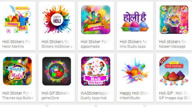 holi 2019, holi, holi stickers, whatsapp holi stickers, whatsapp stickers for holi, holli wishes, holi stickers whatsapp, whatsapp stickers holi