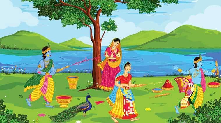Holi 2019, celebrate holi, radha krishna holi Holi Stories