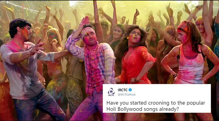 IRCTC Holi Contest 2019: Sing your favourite Bollywood songs to win prizes