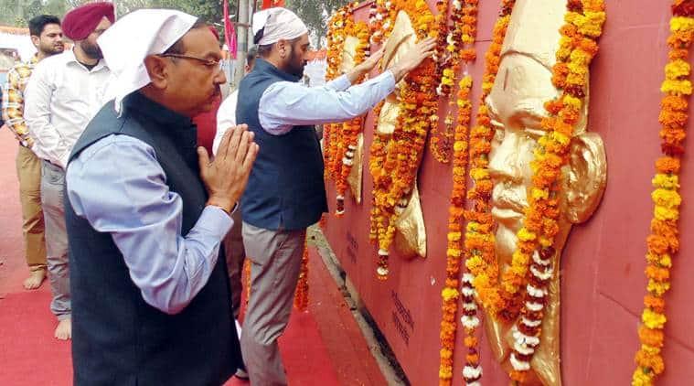 Punjab: Ferozepur Dc Takes 'historical' Train To Hussainiwala Memorial