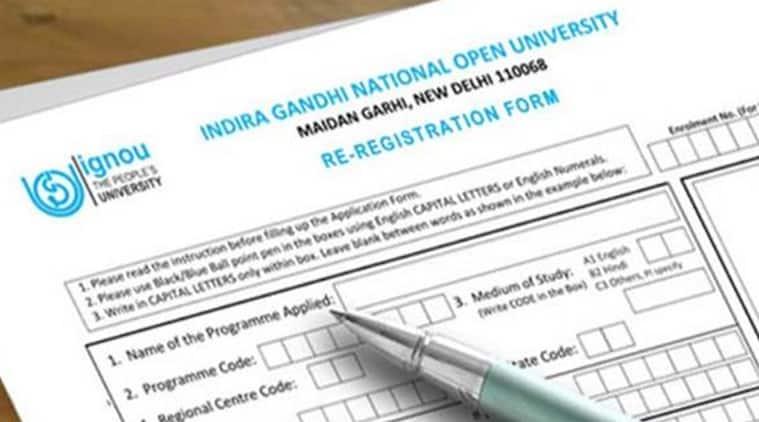 ignou, ignou.ac.in, ignou registration, ignou applications 2018, ignou registration july 2018