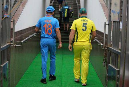India vs Australia, Virat Kohli- Aaron Finch
