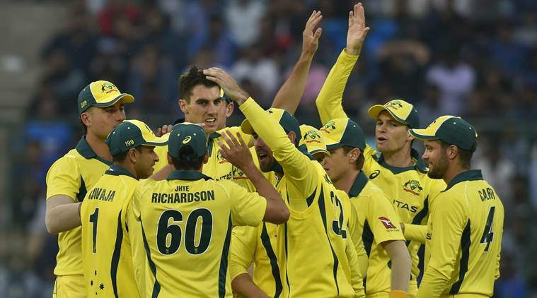 india vs australia, ind vs aus, ind vs aus 5th odi, india vs australia 5th odi, Nathan Lyon, Zampa bowling, india national cricket team, cricket news, indian express news