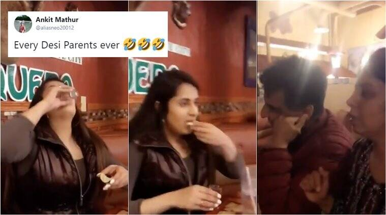 Watch: NRI girl drinks in front of parents, their reaction has every every desi kid say 'relatable'
