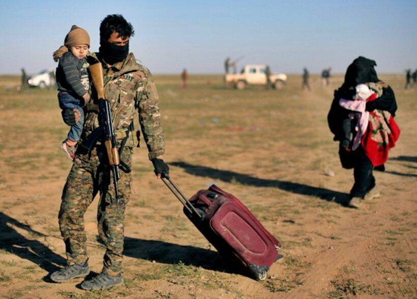 Battle for Islamic State's last enclave