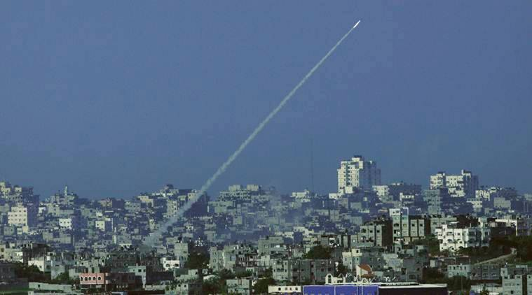 ISrael, Gaza strip, Palestine, Netanyahu, Israeli air strike, Gaza, West Bank, World News, Indian Express