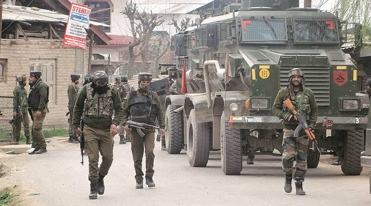 Two foreign Jaish militants killed, 5 Armymen injured in J&K encounter