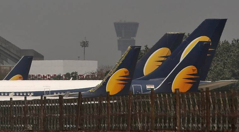 jet airways, aircraft, airline, jet airways crisis, jet airway bankruptcy court, SBI bank, jet airways shares, jet airways bankruptcy, lenders, jet airways lenders, indian express