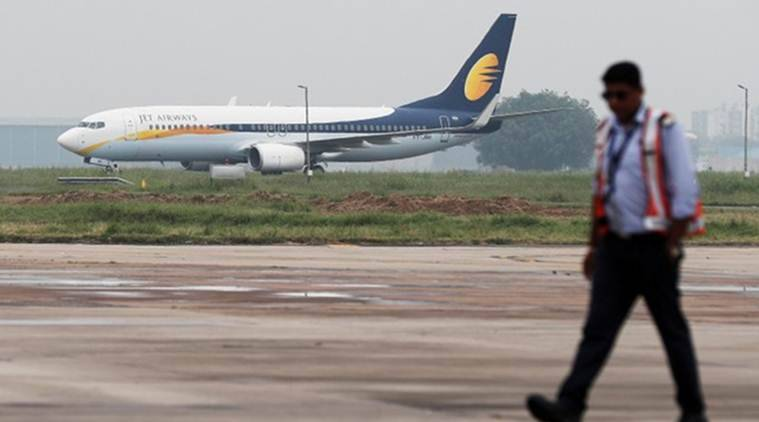 jet airways, jet airways grounded, jet airways debt, jet airways flights, jet airways loans, naresh goyal, naresh goyal jet airways, indian express