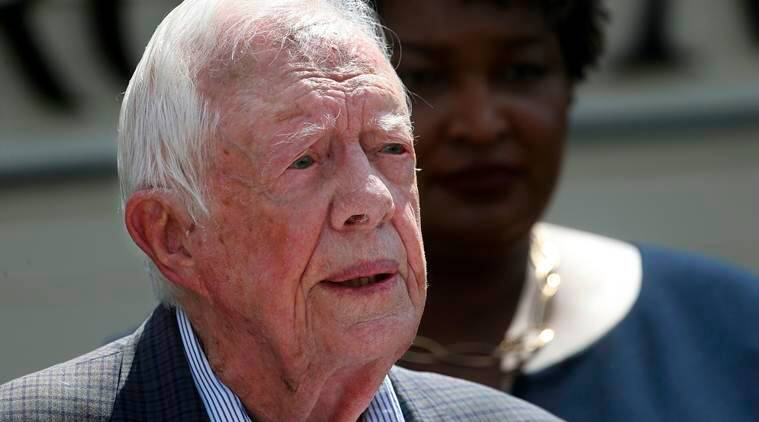 Jimmy Carter, former US president, hospitalised with urinary tract infection