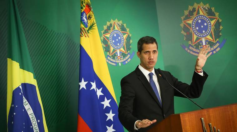 juan guaido, venezuela, crisis in venezuela, nicolas maduro, caracas, south america, argentina, united states, world news, indian express news