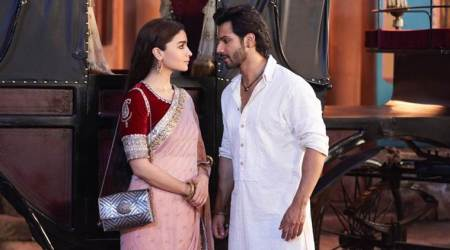 varun dhawan and alia bhatt in kalank