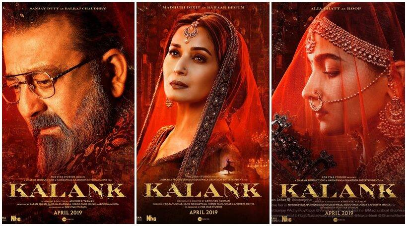 Image result for kalank posters