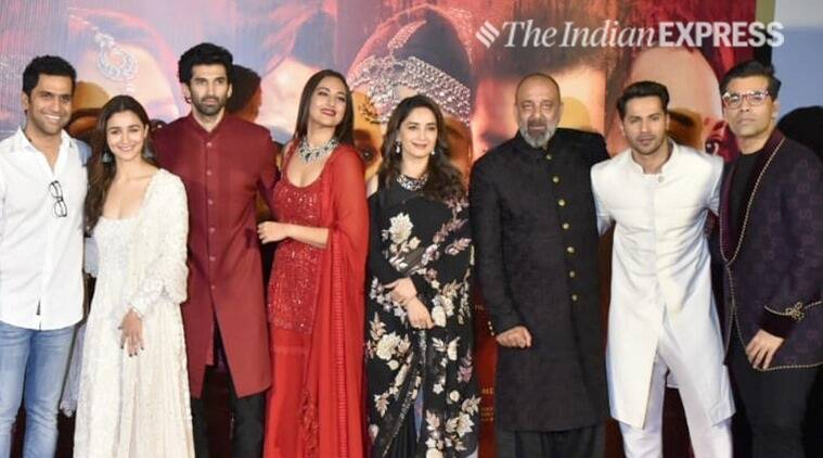 kalank teaser launch cast photos