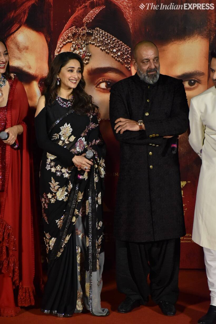 madhuri dixit and sanjay dutt on kalank