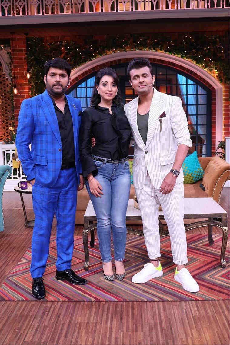 madhurim nigam and sonu nigam on the kapil sharma show