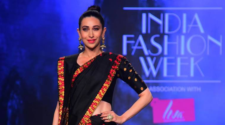 Lotus Make-Up India Fashion Week 2019: Karisma Kapoor walks the ramp for designer Sanjukta Dutta