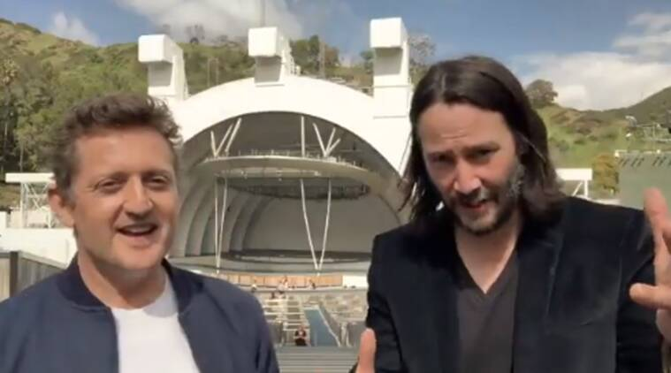 Keanu Reeves, Alex Winter confirm Bill and Ted 3