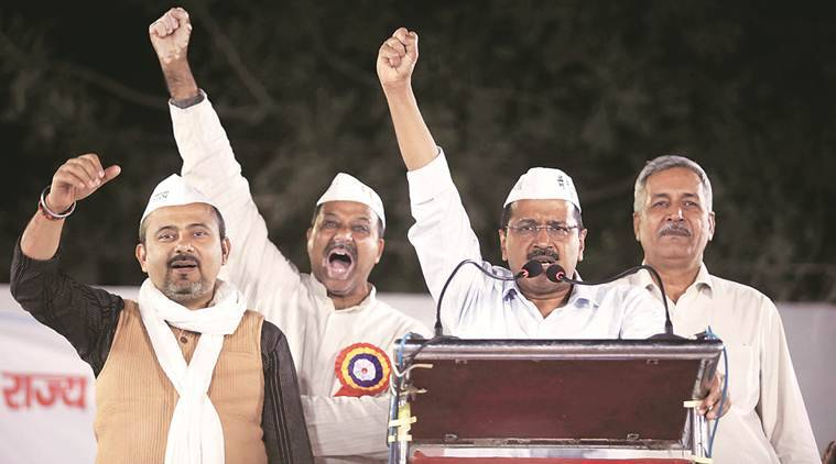AAP's poll cry: Get ready to fight, die for statehood