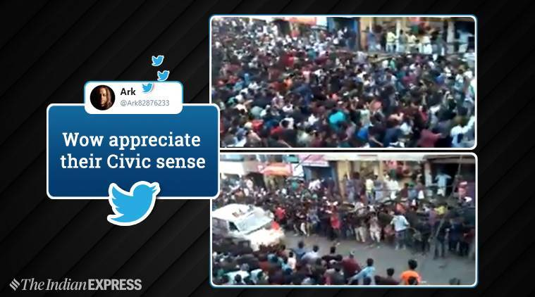 Watch: Crowd Celebrating On Kerala Street Makes Way For Ambulance, Garners Praise Online