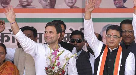Former Uttarakhand CM and BJP leader BC Khanduri's son joins Congress