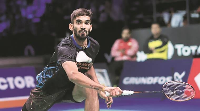 kidambi srikanth, Yonex-Sunrise India Open, kidambi srikanth India open, kidambi srikanth world ranking, srikanth, india open, badminton news, sports news, indian express