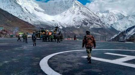 leh, colonel shoots self, colonel airlifted from leh, Command Hospital Chandimandir, chandigarh, Partapur Transit Camp, Siachen, chandigarh news, india news, indian express