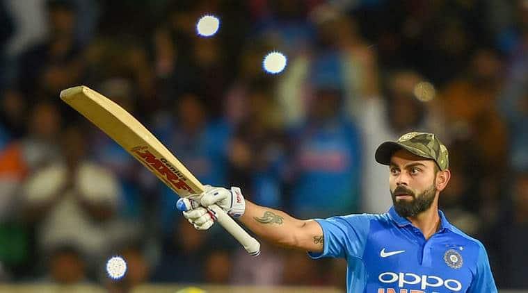 India Vs Australia Virat Kohli Slams 41st Odi Century