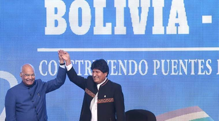 India offers 0 million credit to Bolivia for development projects