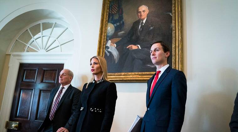 Donald Trump ordered officials to give Jared Kushner a security clearance