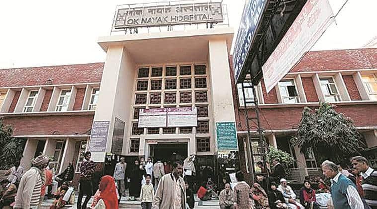 Lok Nayak hospital, Lok Nayak hospital coronavirus cases, coronavirus cases Lok Nayak Hospital, Lok Nayak hospital doctors, Delhi news, city news, Indian Express