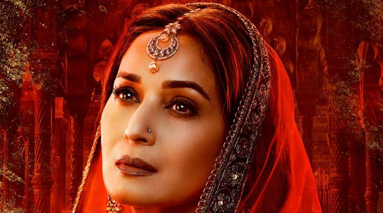 madhuri dixit look in kalank