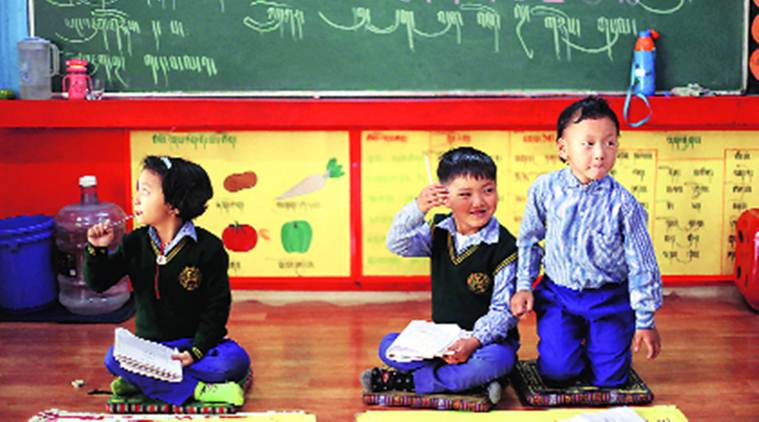 At Majnu ka Tila school where culture comes first, Tibetan is at the centre of learning