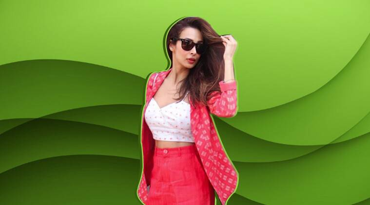 Malaika Arora, malaika arora pantsuit, Malaika Arora fashion, Malaika Arora movies, Malaika Arora western outfit, bollywood party outfit, indian express, indian express news