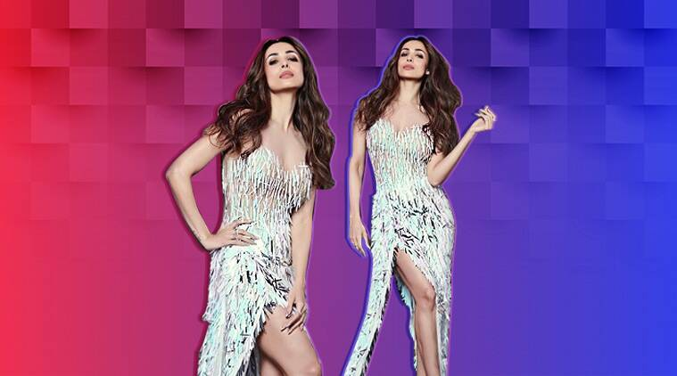 Malaika Arora, koffee with karan, malaika arora koffee with karan, Malaika Arora Sridevi, Malaika Arora sridevi t shirt, Malaika Arora sridevi tee shirt mr india, Malaika Arora fashion, Malaika Arora movies, Malaika Arora western outfit, bollywood party outfit, indian express, indian express news