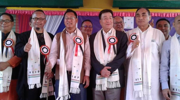 congress leaders quit congress in manipur, manipur congress leaders quit party, North East India Development Party, NEIDP, lok sabha elections, lok sabha elections 2019, manipur news, R K Anand, E Chand, Dr Ng Bijoy, Dr I Ibohanbi, K Sarat
