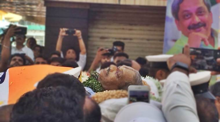 Live Updates: Manohar Parrikar's Funeral At 5 Pm, Bjp Chief Says New Goa Cm To Be Declared Shortly