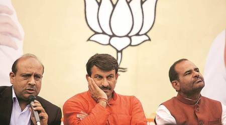 AAP is B-team of Congress, we will win all 7 seats: Tiwari