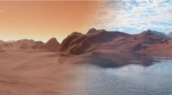 Mars, water on Mars, Mars rivers, Red Planet, rivers on Mars, liquid on Mars, space, NASA, Mars Rover, Martian surface