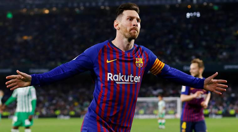 Lionel Messi Scores Unbelievable Free-Kick Against Real Betis